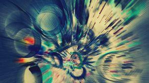 Preview wallpaper circles, light, glitter, dive, spin, paint