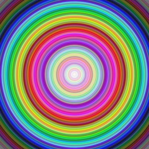 Preview wallpaper circles, lines, abstraction, colorful