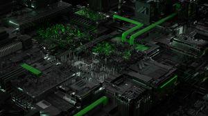 Preview wallpaper circuit, processor, chip, acid