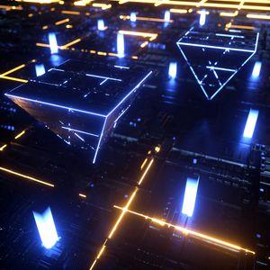 Preview wallpaper circuit, processor, chip, pyramid