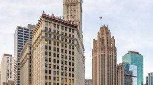 Preview wallpaper city, buildings, architecture, tower, chicago