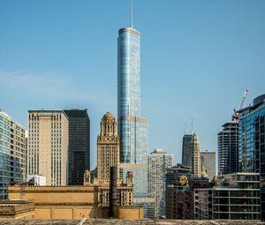 Preview wallpaper city, buildings, skyscraper, architecture