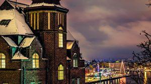 Preview wallpaper city, stockholm, sweden