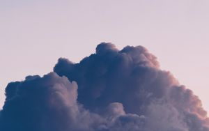 Preview wallpaper cloud, sky, atmosphere, minimalism
