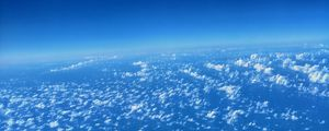Preview wallpaper clouds, atmosphere, troposphere, height, above clouds, horizon