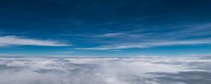 Preview wallpaper clouds, sky, atmosphere, height