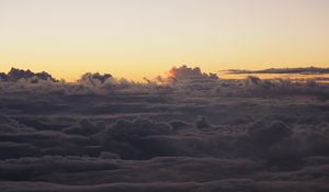 Preview wallpaper clouds, sky, atmosphere, dusk