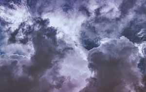 Preview wallpaper clouds, sky, height, atmosphere