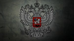 Preview wallpaper coat of arms, russia, eagle, symbols