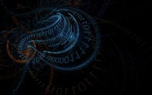 Preview wallpaper code, coding, binary code, abstract, patterns
