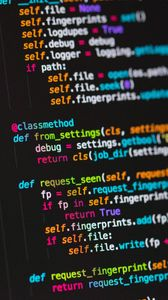 Preview wallpaper code, programming, text, strings, multicolored