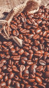 Preview wallpaper coffee beans, coffee, bag