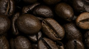 Preview wallpaper coffee beans, coffee, close-up