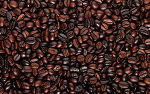 Preview wallpaper coffee beans, food, surface
