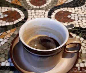 Preview wallpaper coffee, cup, drink, mosaic
