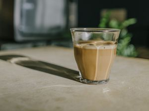 Preview wallpaper coffee, drink, glass