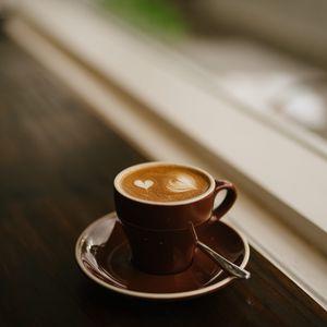 Preview wallpaper coffee, espresso, cappuccino, cup, foam