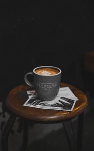 Preview wallpaper coffee, mug, chair