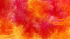 Preview wallpaper colorful, bright, orange, red