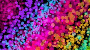 Preview wallpaper colorful, community, glare, bright