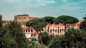 Preview wallpaper colosseum, italy, rom, architecture