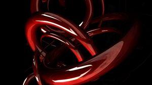 Preview wallpaper compound, plexus, red, black, shape