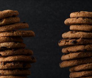 Preview wallpaper cookies, brown, pastries