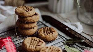 Preview wallpaper cookies, dessert, brown, cooking