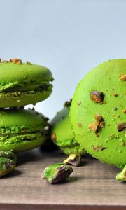 Preview wallpaper cookies, macaroon, pistachio, sweets