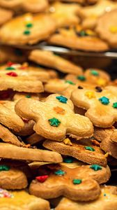 Preview wallpaper cookies, pastries, shape, dessert