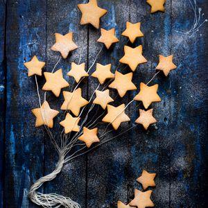 Preview wallpaper cookies, stars, baking, sweet