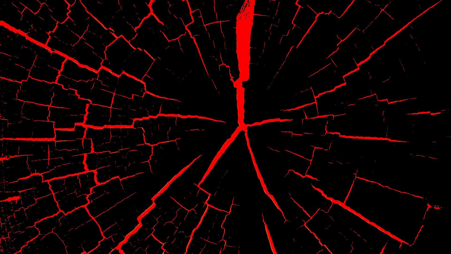 1920x1080 Wallpaper cranny, red, black