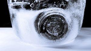 Preview wallpaper creative, frozen, camera