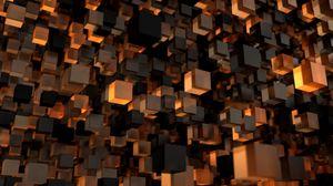Preview wallpaper cube, shape, 3d, figure