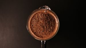 Preview wallpaper cup, coffee, foam, drink, brown
