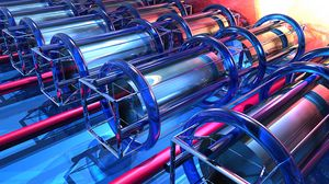 Preview wallpaper cylinders, shapes, 3d