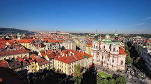 Preview wallpaper czech republic, prague, city