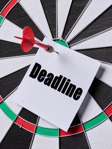 Preview wallpaper deadline, word, text, dart, darts