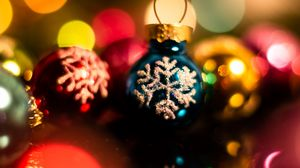 Preview wallpaper decorations, baubles, new year, christmas, holidays