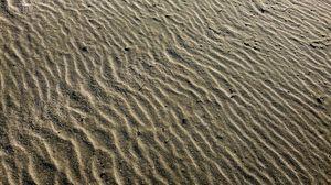 Preview wallpaper desert, sand, waves, texture, relief