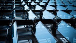 Preview wallpaper design, glass, architecture