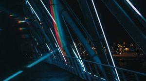 Preview wallpaper design, lighting, architecture, dark