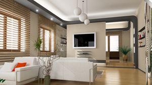 Preview wallpaper design, villa, interior design, style, home, living space