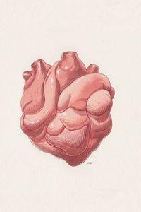 Preview wallpaper digital art, heart, art, background