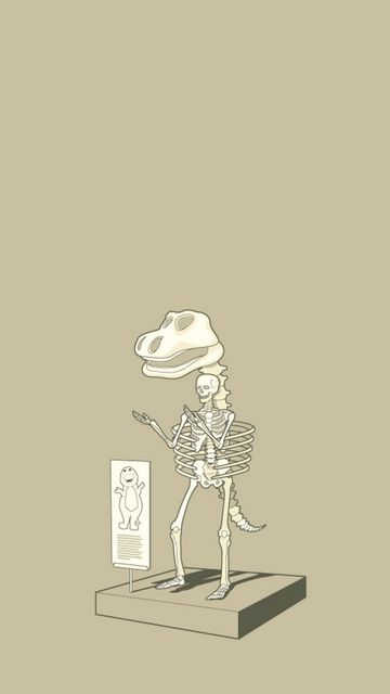 360x640 Wallpaper dinosaur, skeleton, finding, unusual