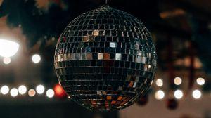 Preview wallpaper disco, ball, mirror, sphere, glare