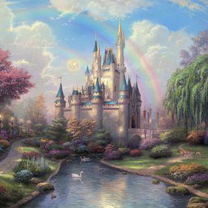 Preview wallpaper disneyland, park, art, fairy, painting