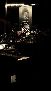 Preview wallpaper dj bullet, speakers, music, musical equipment
