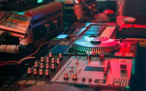 Preview wallpaper dj, mixer, equalizer, electronics, equipment, music