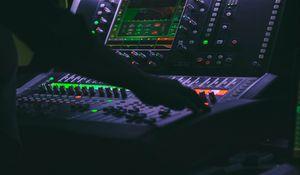 Preview wallpaper dj, music, disco, apparatus, dark